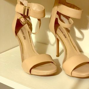 GIANNI BINI nude stiletto heels